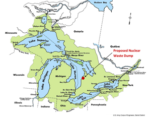 Stop Ontario Power Generation from polluting the Great Lakes!