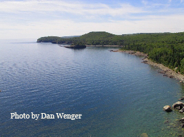 Lake Superior photo by Dan Wenger