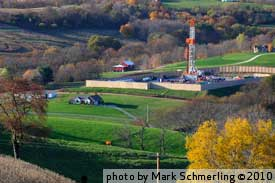 Natural Gas Fracking in Bedford County, PA