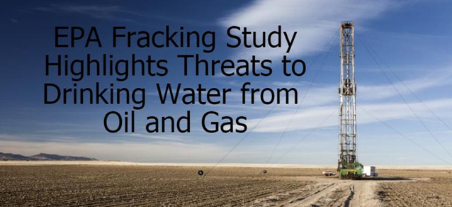 Fracking's impacts on drinking water