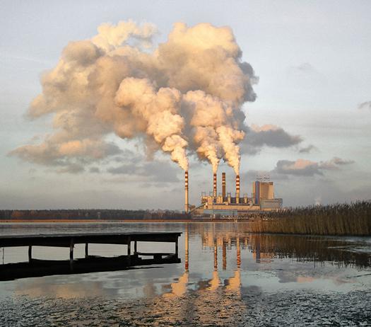 Coal plant, water