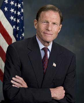 Senator Richard Blumenthal (D-CT). Courtesy of his office
