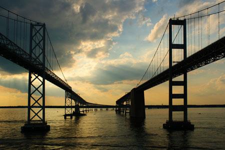 Chesapeake Bay Bridge. Photo credit: C. Kurt Holter / Shutterstock