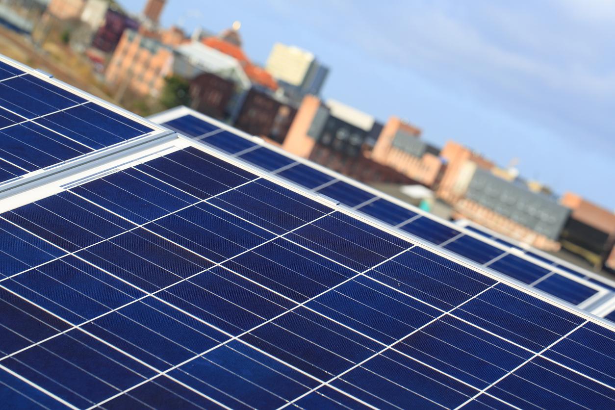 Rooftop solar panel. photo: istock.com