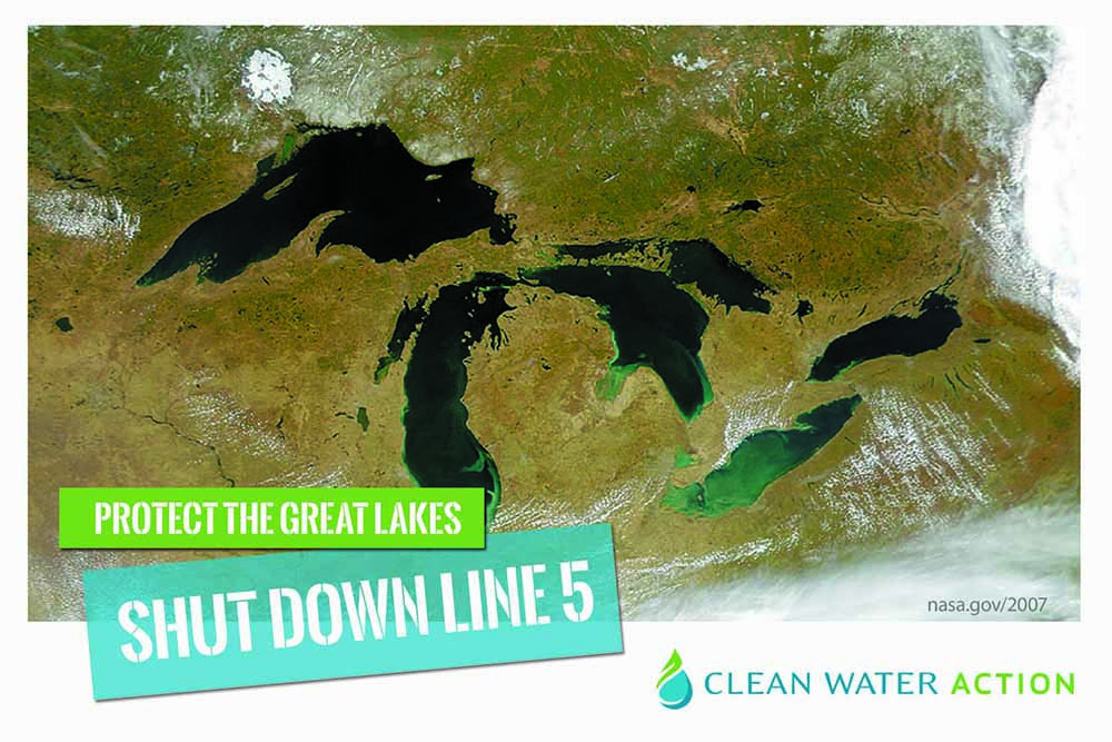 Protect the Great Lakes, Shut Down Line 5