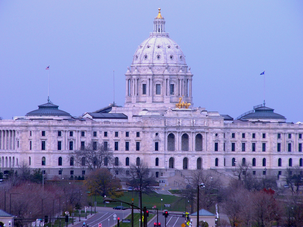 Minnesota Capitol / photo: flickr.com/ktylerconk (CC BY 2.0)