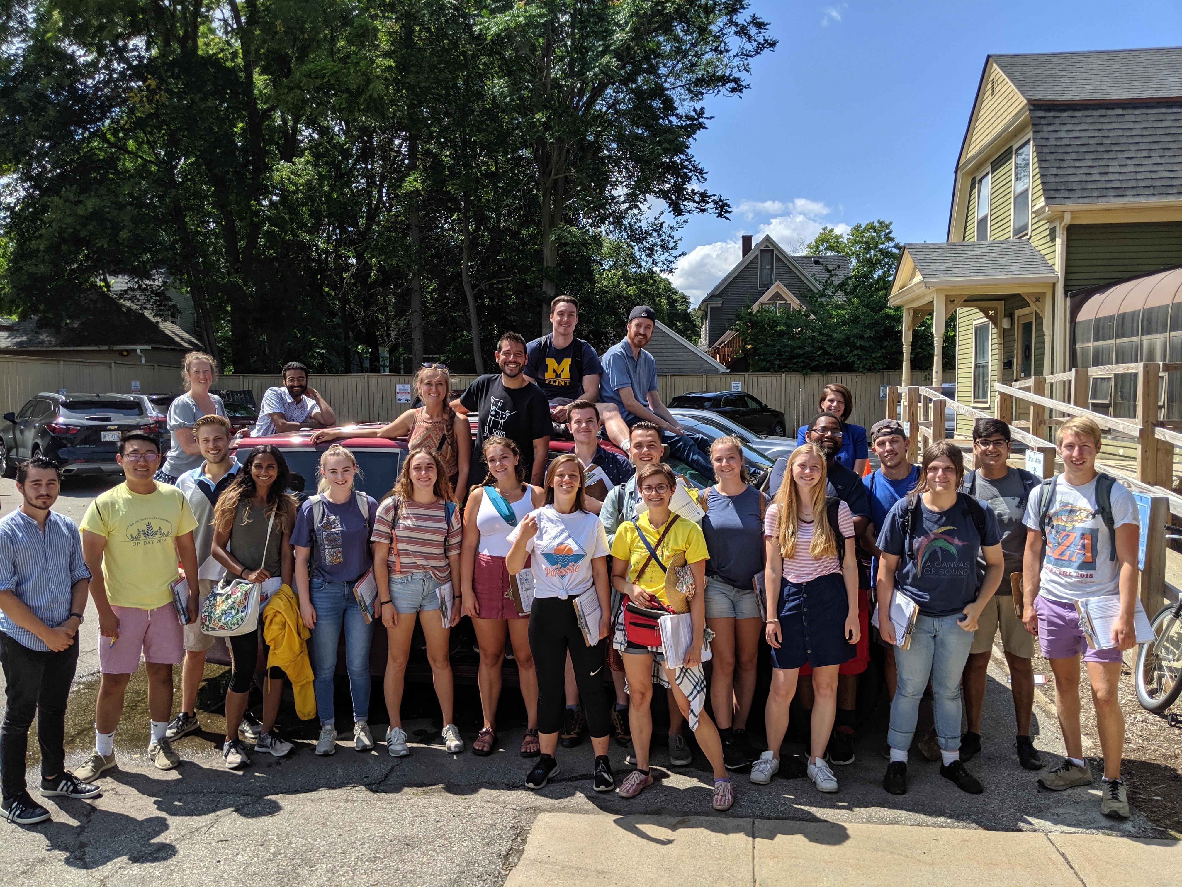 Ann Arbor Summer Canvass Staff 2019