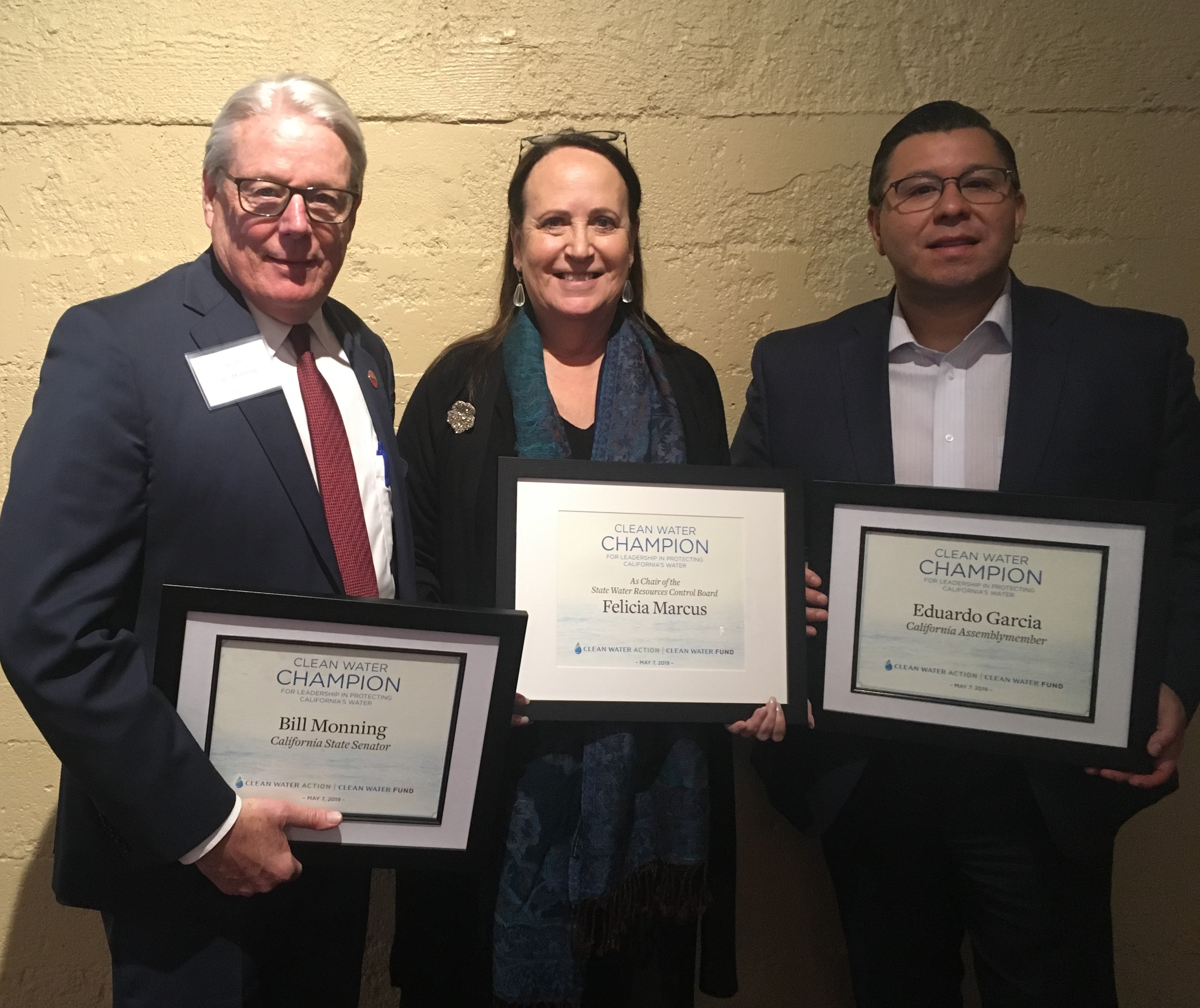 Environmental Champion Reception Honorees