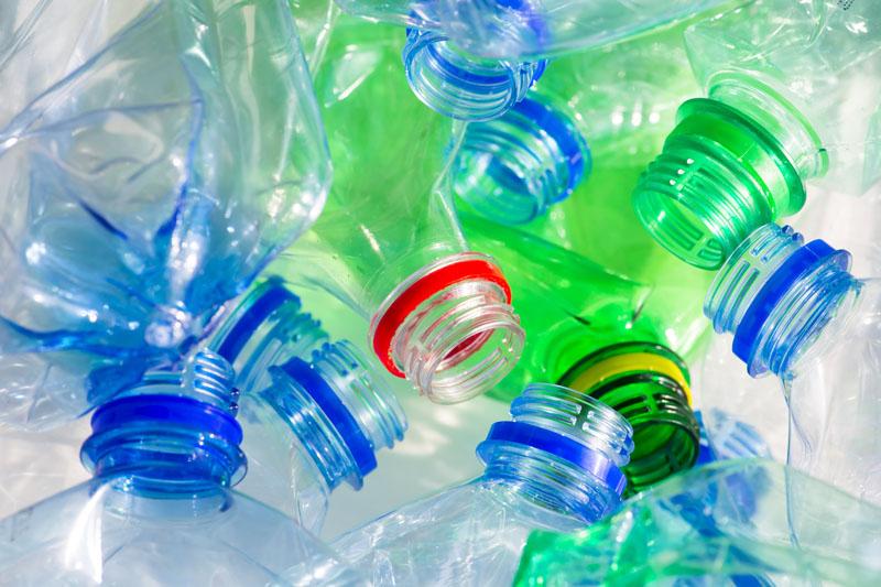 Pile of cololrful plastic bottles. Photo Credit: Don Pablo/Shutterstock