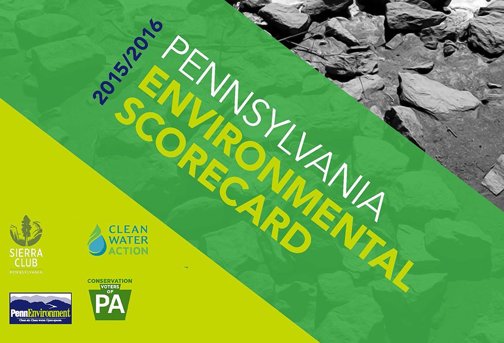 2015-2016 PA Environmental Scorecard