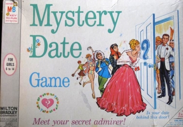 Mystery Date game box / via J. Van Meter on wikipedia, cc