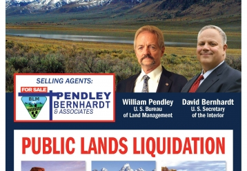 Stop Pendley from selling off public lands