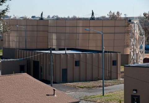 Wastewater treatment plant. Credit: You Belong in Longmont (Flickr)