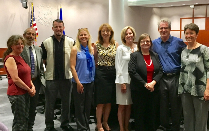 The team at the Chemicals of Concern Event in CT in June 2017