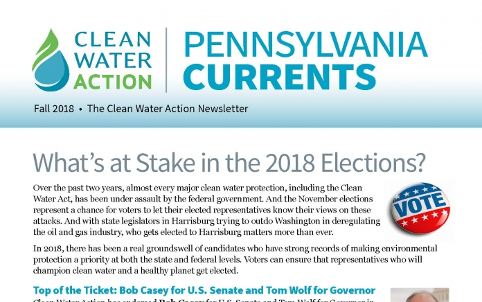 Pennsylvania Currents -- Fall 2018