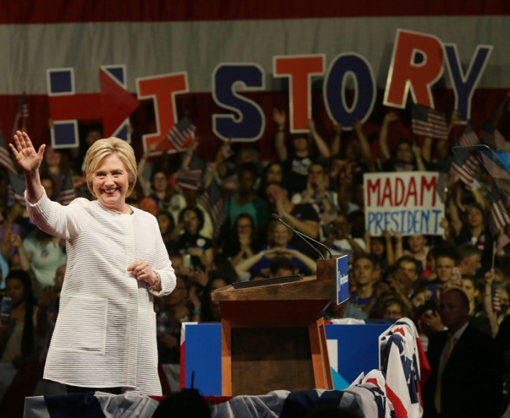 Clean Water Action endorses Hillary Clinton. Photo credit: Krista Kennell / Shutterstock.com