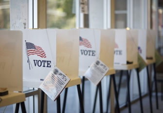 Voting booths. Photo credit: hermosawave / iStock