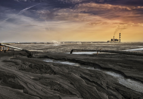photo: coal ash dump / shutterstock
