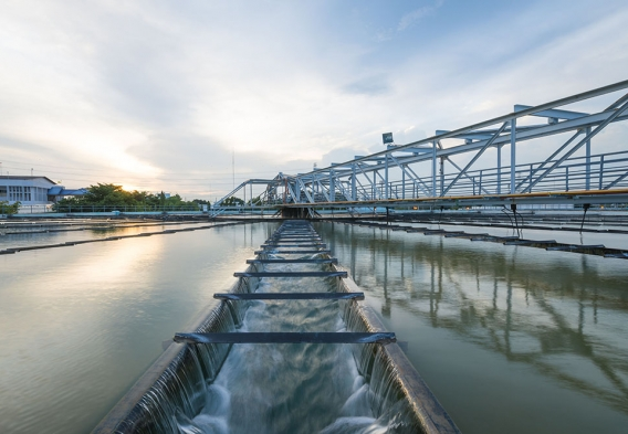 photo: water treatment plant, shutterstock.com