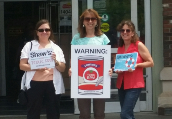 Asking Shaw's to carry safer products