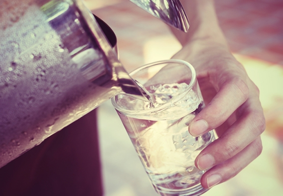 pitcher of water. photo: successo images / shutterstock.com