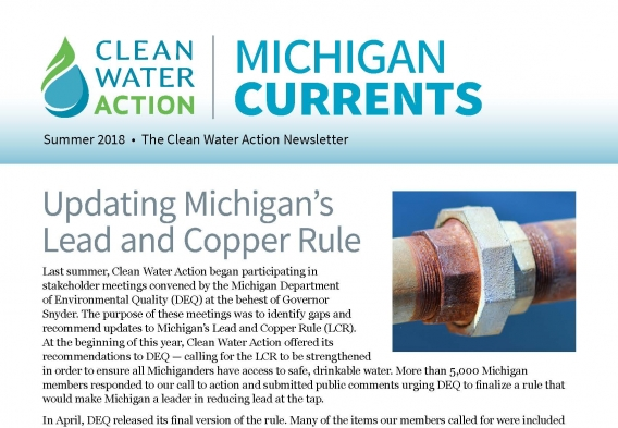 Michigan Currents -- Spring-Summer 2018