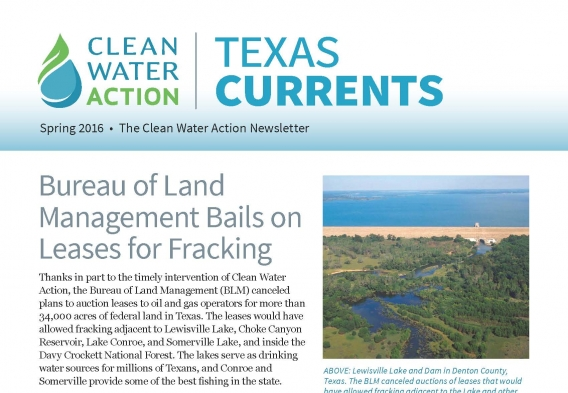 TX Currents Spring 2016
